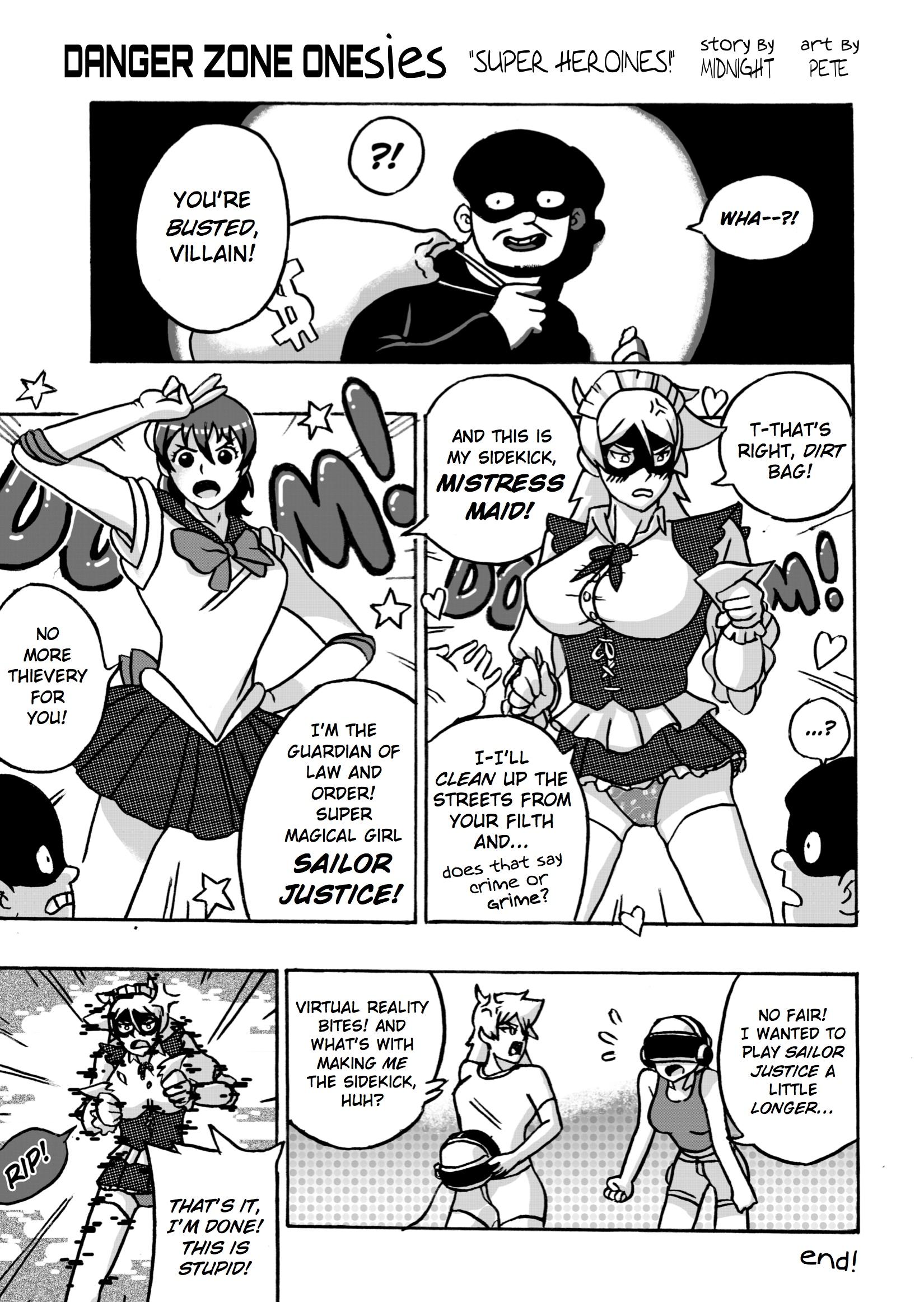 """""""Super Heroines!"""""""